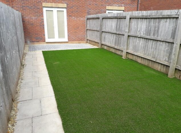 artifical grass laying in bristol