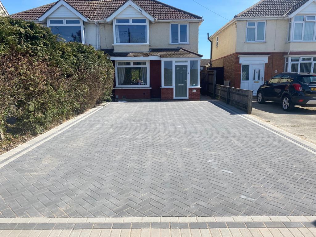 Block paving in Bristol