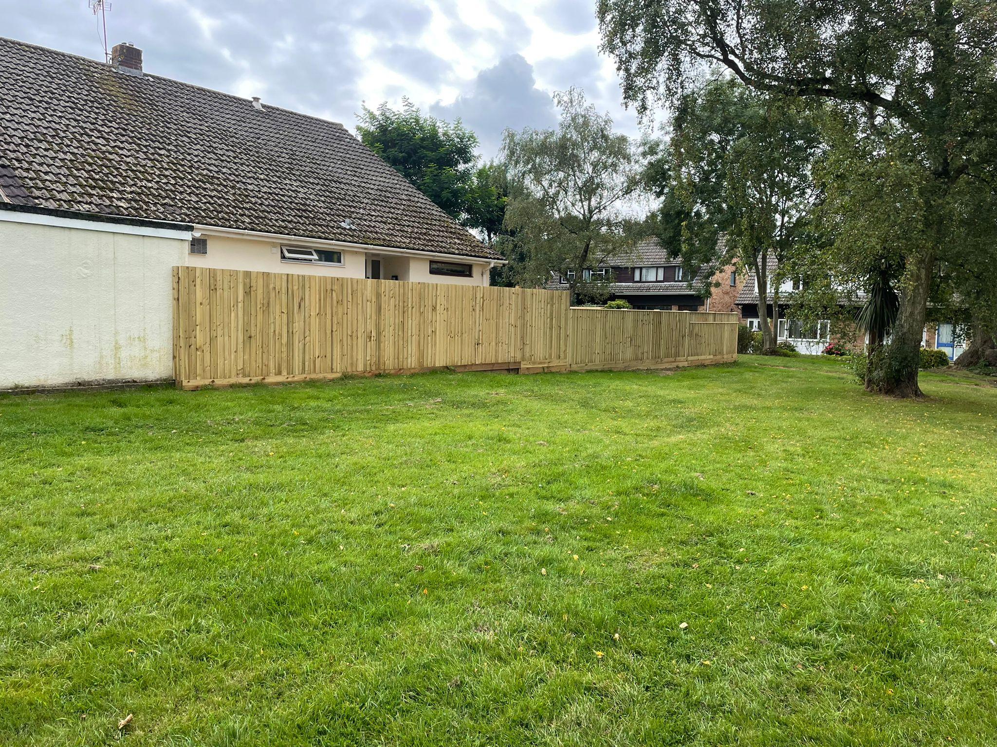 New garden fencing in bristol