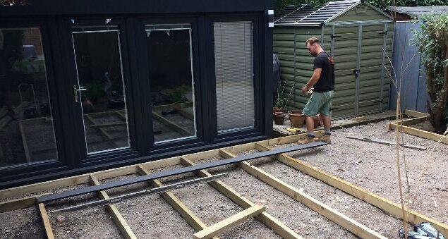 garden decking construction Bristol