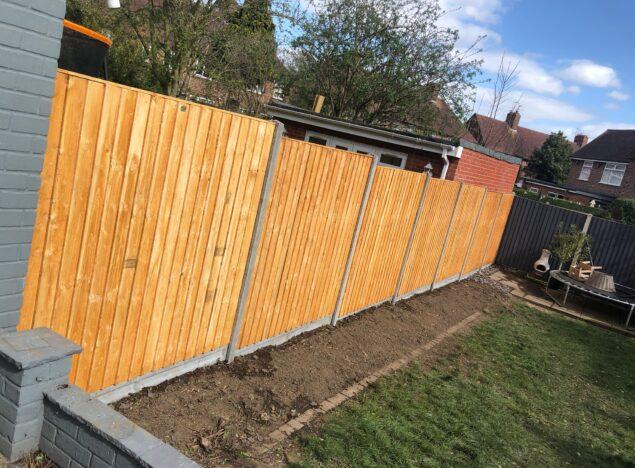 garden fencing in bristol